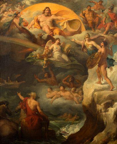 PIERRE-JOSEPH-CÉLESTIN FRANCOIS<br/>NAMUR, 1759/1851, BRUXELLES