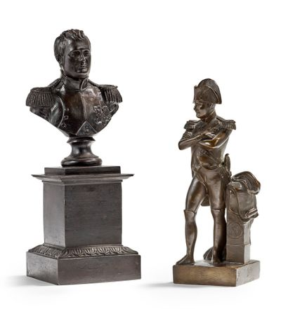 NAPOLÉON IER EMPEREUR DES FRANÇAIS Bronze...