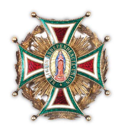 MEXIQUE ORDRE DE NOTRE DAME DE GUADALUPE...