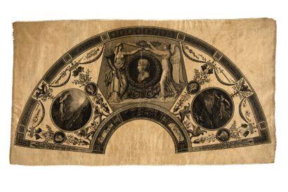 Antoine Denis Chaudet (1763-1810), Pierre François Léonard Fontaine (1762-1853), et Charles Percier (1764-1838) Gravé par Jean Godefroy (1771-1839), D'après  vers 1797-1799.