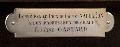 EXCEPTIONNEL NÉCESSAIRE À PIPE OFFERT PAR LE PRINCE LOUIS NAPOLÉON Provenant du...