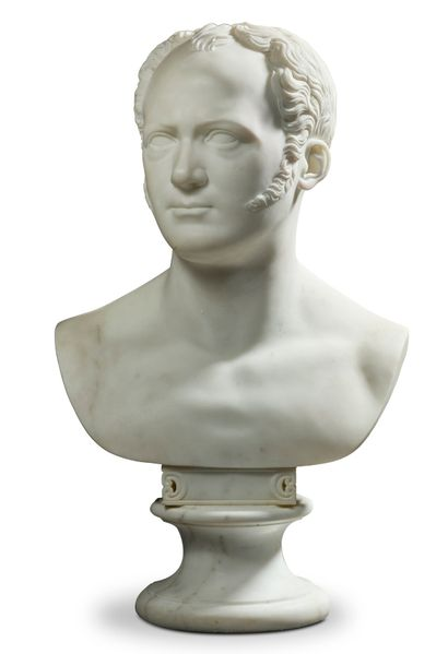 CHRISTIAN DANIEL RAUCH (AROLSEN 1777- DRESDE 1857)