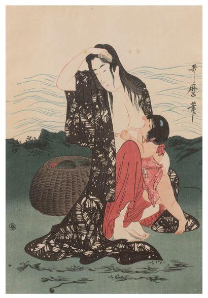 JAPON KITAGAWA UTAMARO (1753-1806)