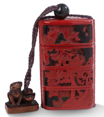 JAPON PÉRIODE EDO (1603-1868),<br/>FIN XVIIIE - DÉBUT XIXE SIÈCLE
