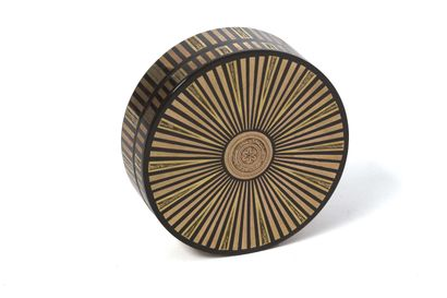 Tabatière de forme ronde