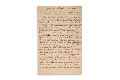 LAMENNAIS Félicité de (1782-1854)