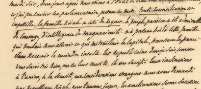 LAFAYETTE Marie-Joseph de (1757-1834) général et homme politique 100 L.A.S. and 13...