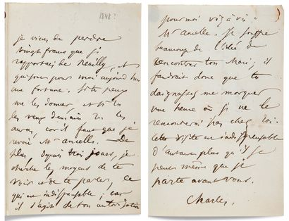 BAUDELAIRE Charles (1821-1867)