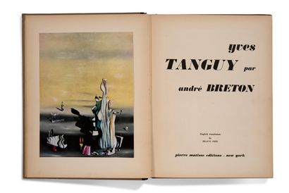 "BRETON André (1896-1966) L.A.S. ""André Breton"", New York October 31, 1945, to Alain..."