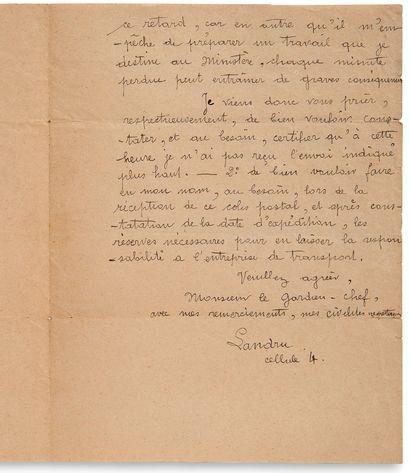LANDRU Henri Désiré (1869-1922) criminel