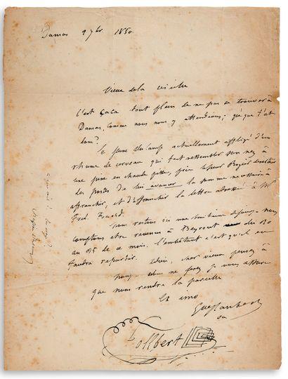 FLAUBERT Gustave (1821-1880)