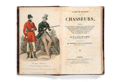 • [CHASSE ET PÊCHE]. LANGEL Comte de Guide...