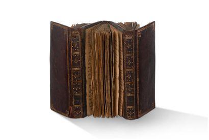 • POÉSIE. MANUSCRIT, [années 1830 ?] ; environ...