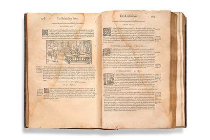 [CHIRURGIE]. PARÉ Ambroise (vers 1510-1590) Les Oeuvres d'Ambroise Paré, conseiller...