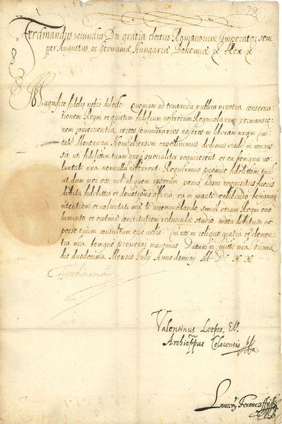 SAINT-EMPIRE. FERDINAND II (1608-1657) Empereur....