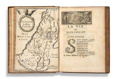 [SAINT-RÉAL César de (1643-1692)] La Vie de Jésus-Christ Paris, René Guignard, 1678....