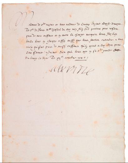 MEDICIS Catherine de (1519-1589)