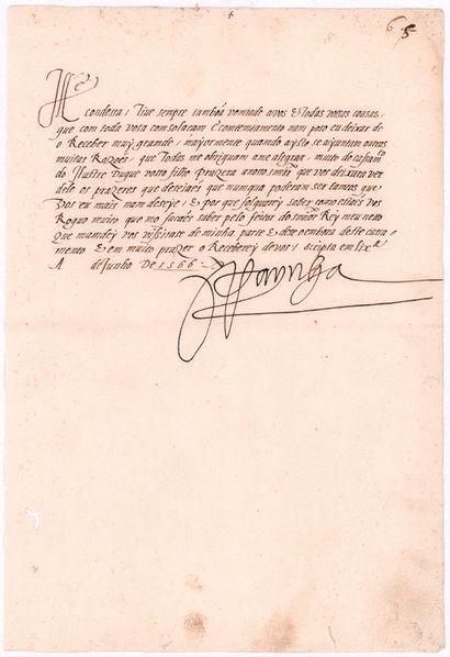 PORTUGAL. CATHERINE DE CASTILLE (1507-1578)...