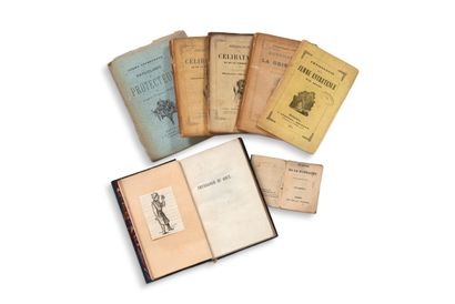 • [CARICATURES]. PHYSIOLOGIES Importante collection de Physiologies (145 volumes...