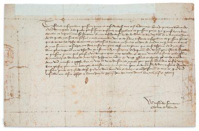 CHARLES VII (1403-1461) BADEN Charles Ier marquis de (1425-1475), margrave de Baden...