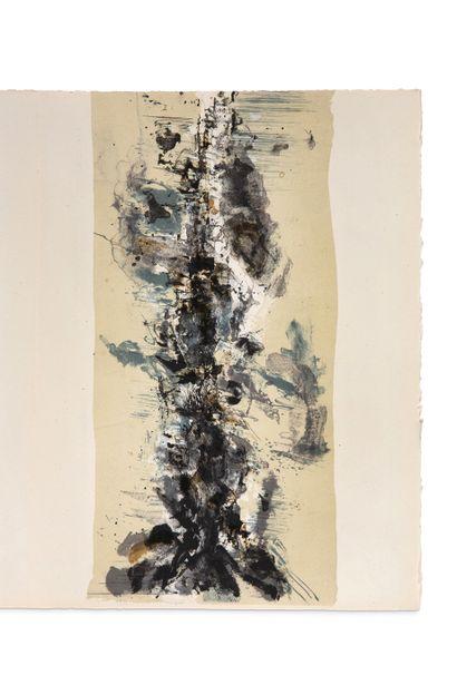 ZAO Wou-Ki (1921-2013) - MALRAUX André (1901-1976) La Tentation de l'Occident S.l.,...