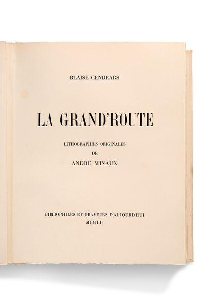 MINAUX André (1923-1986) - CENDRARS Blaise (1887-1961)