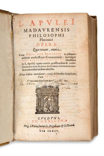 [APULÉE (Madaure, vers 125 - Carthage, vers...