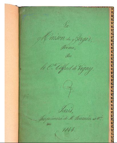 VIGNY Alfred de (1797-1863)