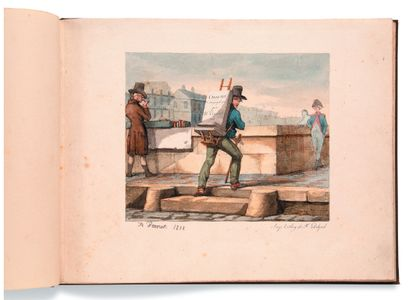 • [CHASSE]. VERNET Horace (1789-1863) Croquis...