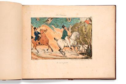• [CARICATURES]. LAMI Eugène (1800-1890)...