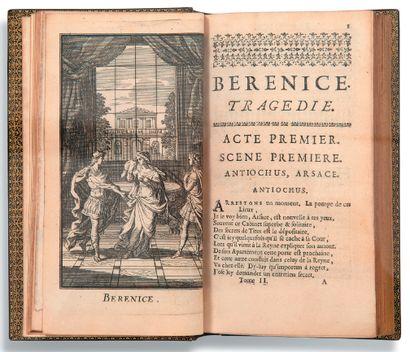 RACINE Jean (1639-1699) Oeuvres Paris, Claude Barbin, 1676. 2 volumes in-12 (165...