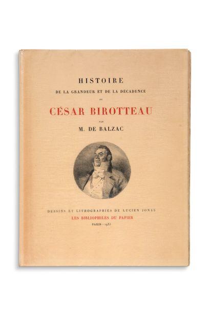 JONAS Lucien (1880-1947) - [BALZAC Honoré de (1799-1850)]