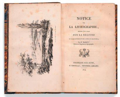• [LITHOGRAPHIE]. MAIRET François Ambroise...
