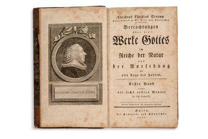 [ALLEMAGNE] Réunion de deux ouvrages en allemand [LIVRE DE PIÉTÉ]. Das Ordentliche...