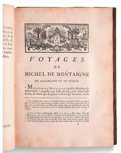 MONTAIGNE Michel de (1533-1592)
