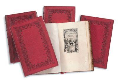 BOCCACE (1313-1375) - [GRAVELOT]. [BOUCHER]. [EISEN].<br/>[COCHIN]
