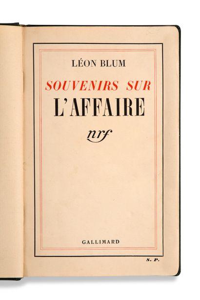 BLUM Léon (1872-1950)