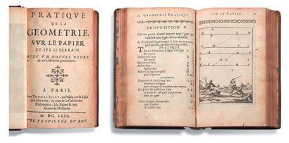 [LE CLERC Sébastien (1637-1714)] Pratique de la géométrie, sur le papier et sur le...