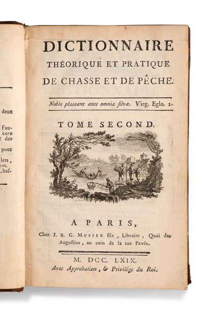 • [CHASSE]. [DELISLE DE SALES Jean-Baptiste-Claude...