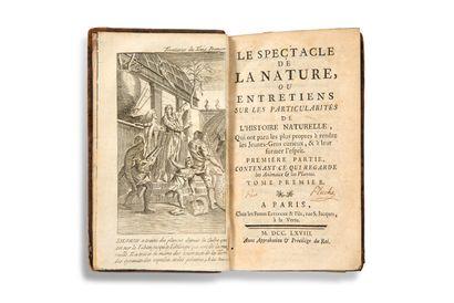[PLUCHE, Noël-Antoine] Le Spectacle de la nature, ou Entretiens sur les particularités...