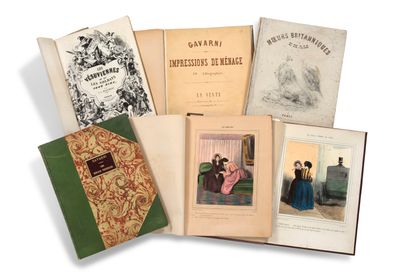 • [LITHOGRAPHIES]. GAVARNI Paul (1804-1866)...