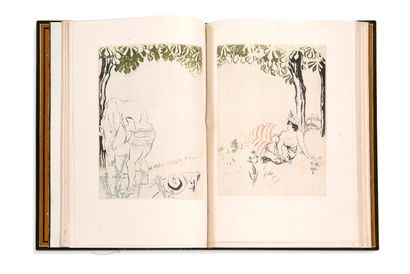 RAMIRO Erasthène (1853-1928) - LEGRAND Louis (1863-1951) Faune parisienne Paris,...
