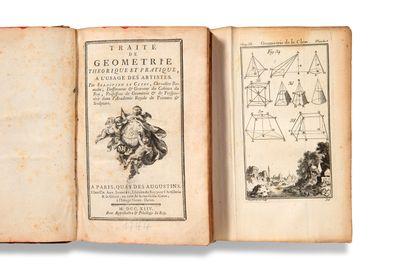 LE CLERC Sébastien (1637-1714) Traité de géométrie théorique et pratique, à l'usage...