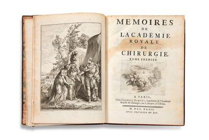 [CHIRURGIE] Mémoires de l'Académie royale de chirurgie Paris, Charles Osmont, Delaguette,...