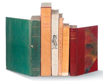 [LIVRES ILLUSTRÉS] Ensemble de 6 livres illustrés....
