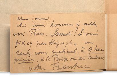 TOULOUSE-LAUTREC Henri de (1864-1901) - CLEMENCEAU Georges (1841-1929) • Au pied...