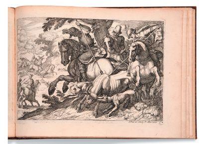 • [CHASSE]. [TEMPESTA Antonio (1555-1630)]...