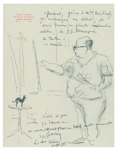WANECQ Maurice (1893-1980) littérateur.