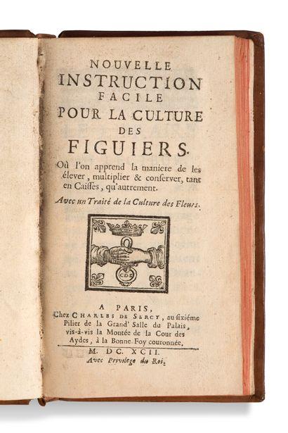 • [BALLON Gilles et GARNIER] Nouvelle instruction facile pour la culture des fi...