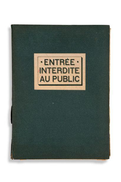 • [CURIOSA]. VERTÈS Marcel (1895-1961) Entrée...